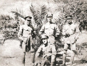 Albert William Jones, Sapper 72094 far right